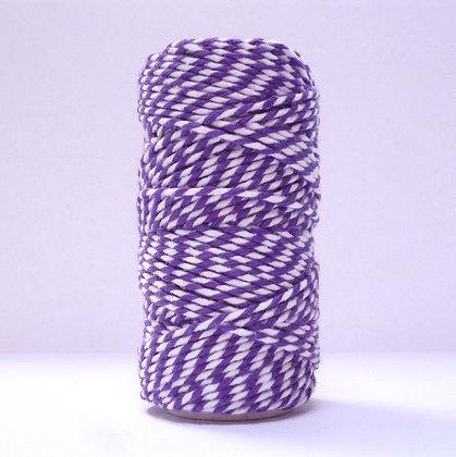 Baker's Twine Candy Stripe 20m :: Purple