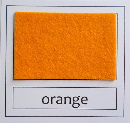"Die Cut Pack :: 1"" circles :: Orange"