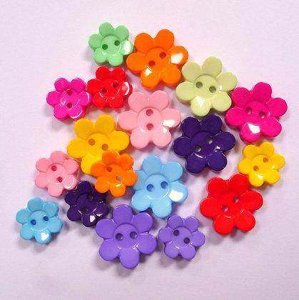 Cute Flower Button