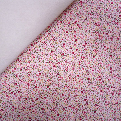 Fabric Felt :: Tiny Wild Flower White :: Meadow on Natural