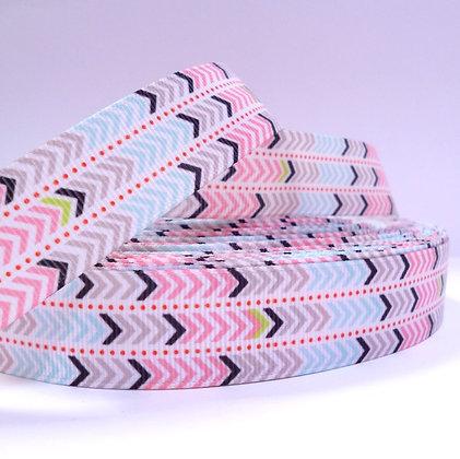 Pattern Grosgrain Ribbon :: Pastel Arrows/Chevrons