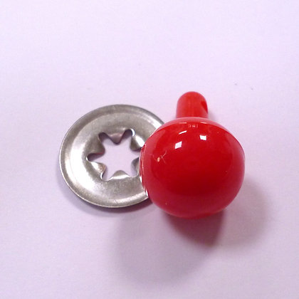 15mm ball safety nose :: red