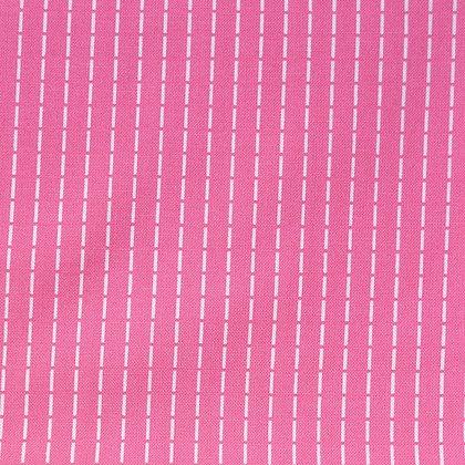 Fabric :: Running Stitch :: Pink
