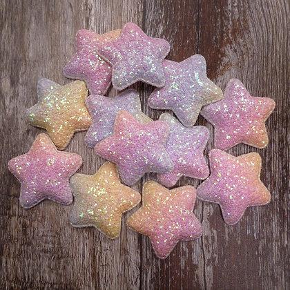 Padded Star :: Pastel Rainbow :: Large