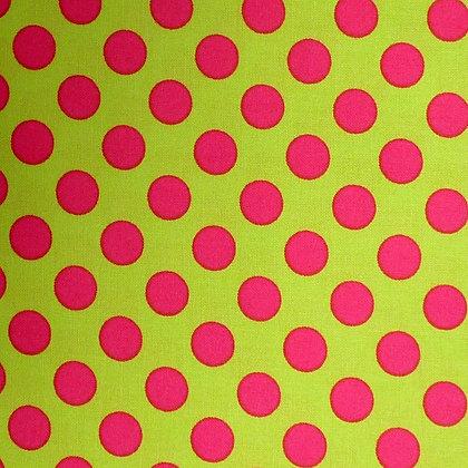 Fabric :: Ta Dot :: Watermelon