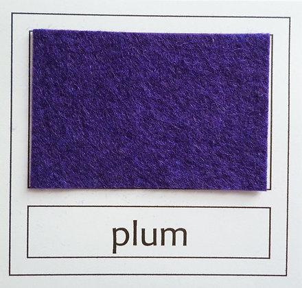 """Die Cut Pack :: 1"""" circles :: Plum"""