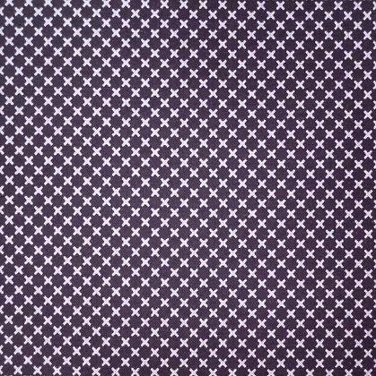 Fabric :: Dot & Dash :: Grey Crosses