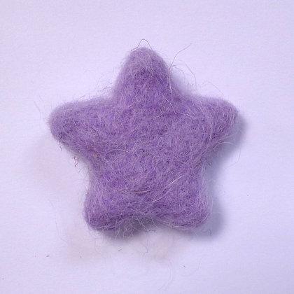 Felt Stars 100% Wool :: Mauve