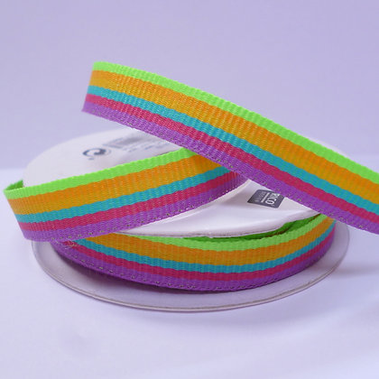 Rainbow Ribbon Spools :: Rainbow Neon