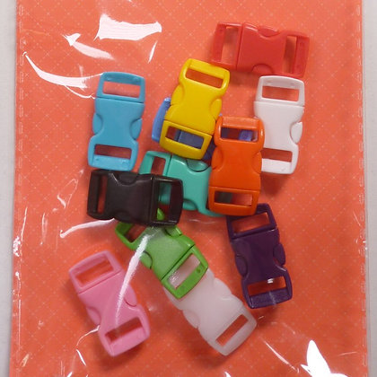 Coloured Plastic Mini Clips