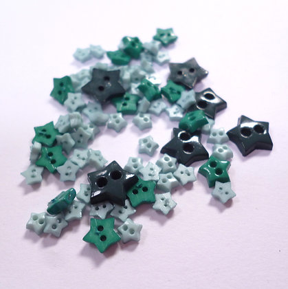Pack of Tiny Stars :: Green