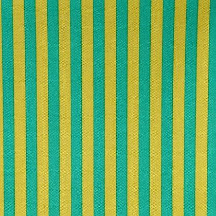 Fabric :: Clown Stripe :: Teal