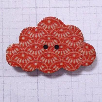 Wooden Cloud Button :: Fan