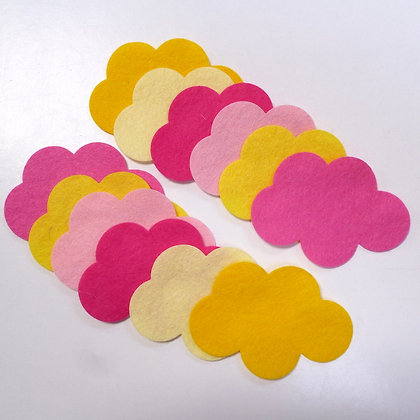 Die Cut Pack :: Clouds :: Rhubarb & Custard