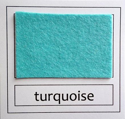 "Die Cut Pack :: 1"" circles :: Turquoise"