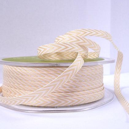 narrow twill ribbon :: beige
