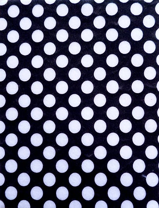 Large Dot Felt :: Black