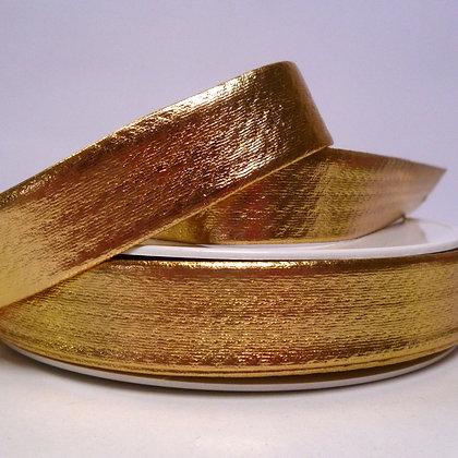 Metallic Bias Binding :: Gold
