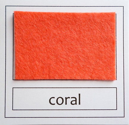 "Die Cut Pack :: 1"" circles :: Coral"