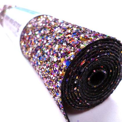 Chunky Glitter mini roll :: Rainbow