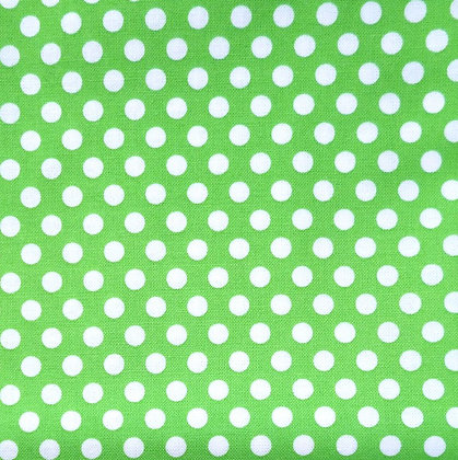 Fabric :: Kiss Dot :: Green