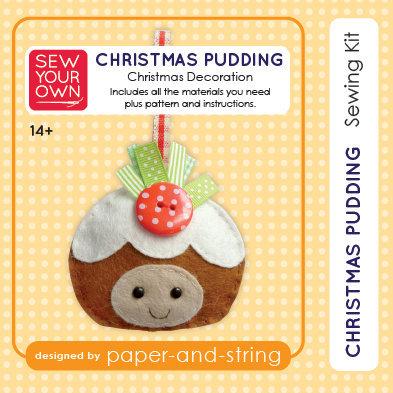 Christmas Pudding Mini Kit