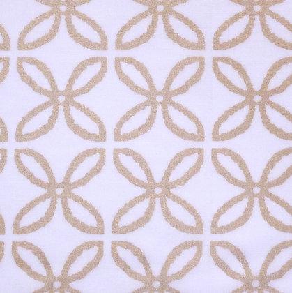 Fabric :: Metallic :: Gold Clover