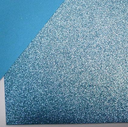 Glitter Felt :: Turquoise