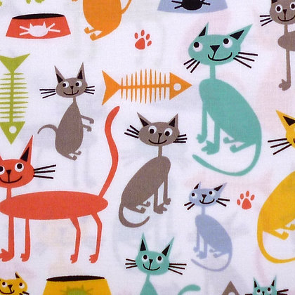 Fabric :: Cat & Kaboodle