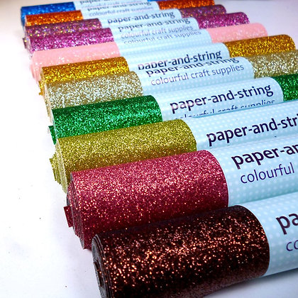 Fine Glitter Mini Roll :: WHOLE SET
