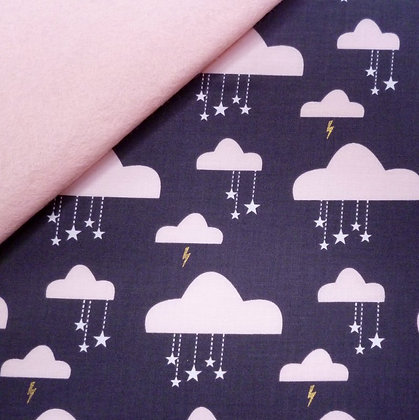 Fabric Felt :: Do You Believe? :: Swinging on a star on Blush