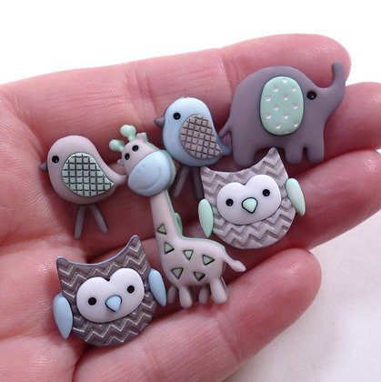 Fantastic Button Packs :: Jungle Baby