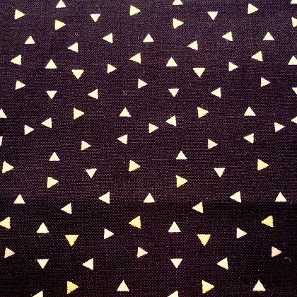 Fabric :: A Little Bit Of Sparkle :: Metallic Triangles