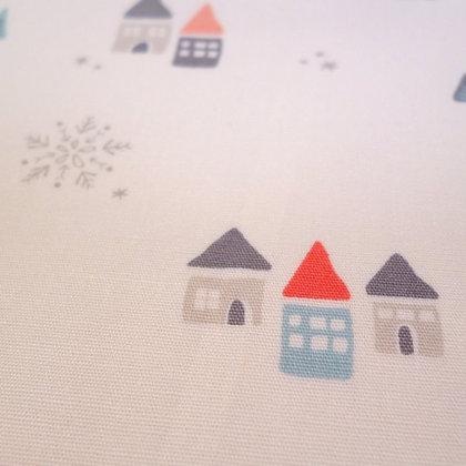 SALE Fabric :: Little Town :: Snow Drift Jolly
