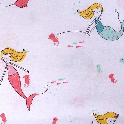 Fabric :: Salt Water :: Mermaids