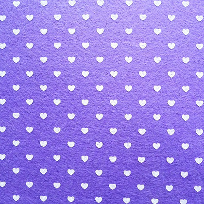 Heart Felt Square :: PURPLE