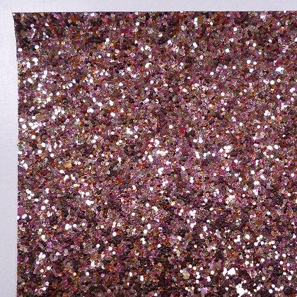 Chunky Glitter sheet :: Mixed :: Rose Gold Mix
