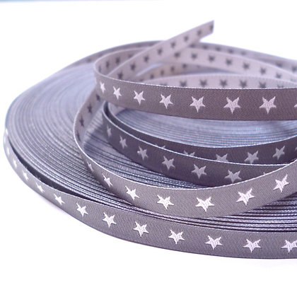 Embroidered Ribbon :: Double Sided Stars