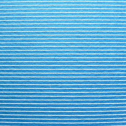 Stripe Felt Square :: BLUE