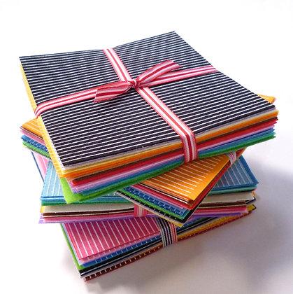 Printed Felt Rainbow :: STRIPES