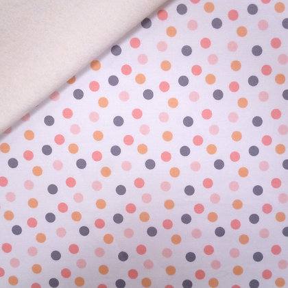 Fabric Felt :: A Little Bit Of Sparkle :: Dots on Natural