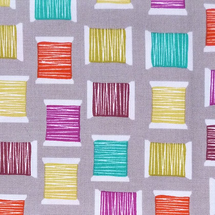Fabric :: Cool Spools :: Stone
