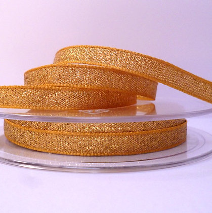 Lame Ribbon :: 7mm Gold