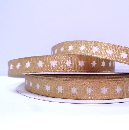 Metallic Ribbon :: Gold Star