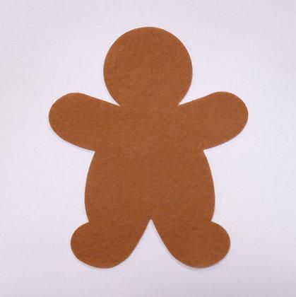 Die Cut :: Gingerbread Man :: Mocha