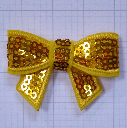 Sparkle Bow :: Medium :: Yellow Gold