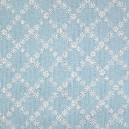 Fabric :: A Winter Tale :: Snowflakes Blue