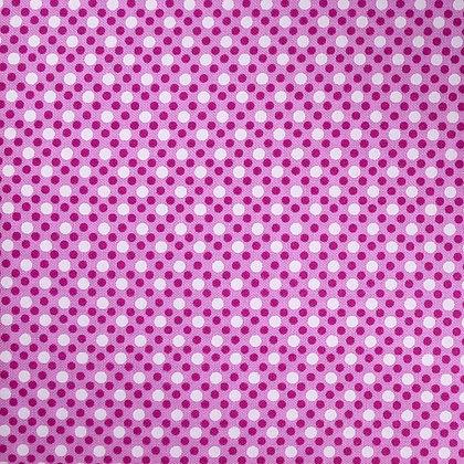Fabric :: Dim Dots :: Peony