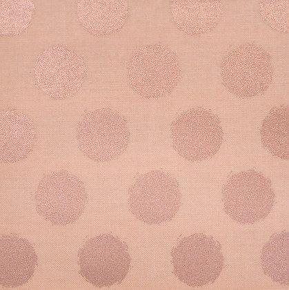 FQ SALE Fabric :: Blush :: Blush & Rose Gold Dot FAT QUARTER
