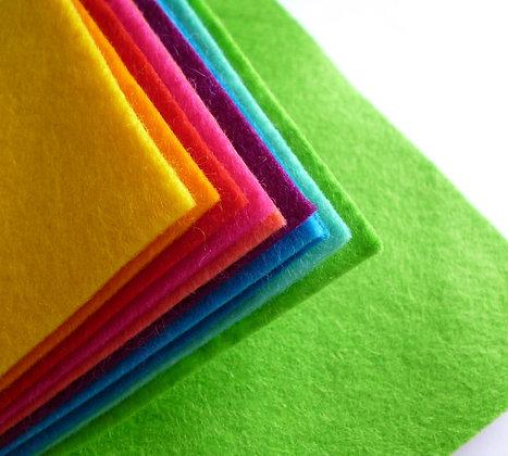 BRIGHTS Premium Wool Felt Colour Pack